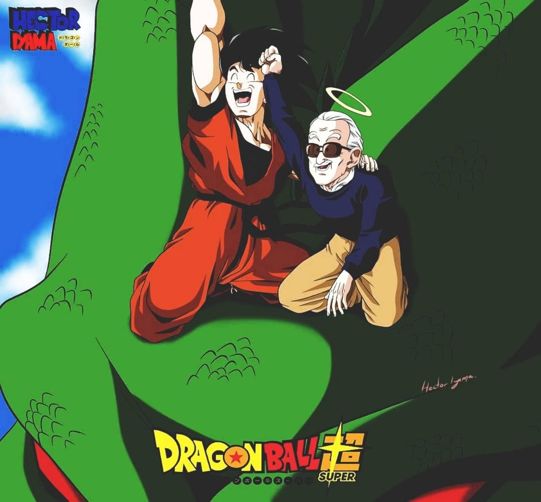 Stan Lee y Goku