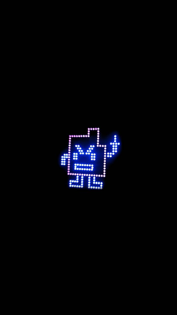 LED man flipping off