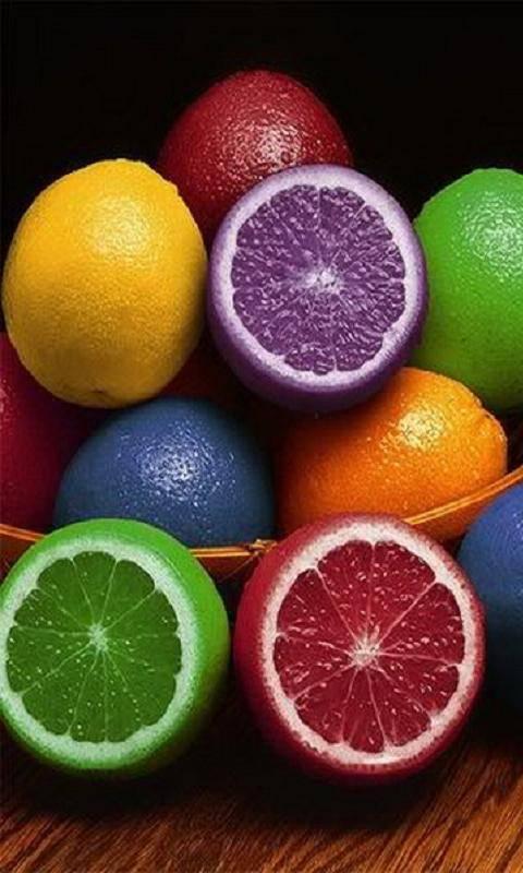Colored Oranges