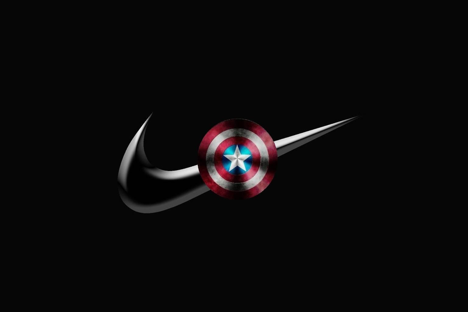 Black Nike Shield