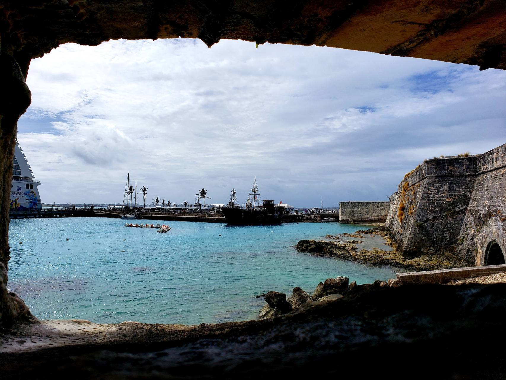 Bermuda from cave