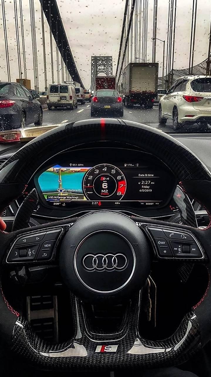 Audi s6 interior