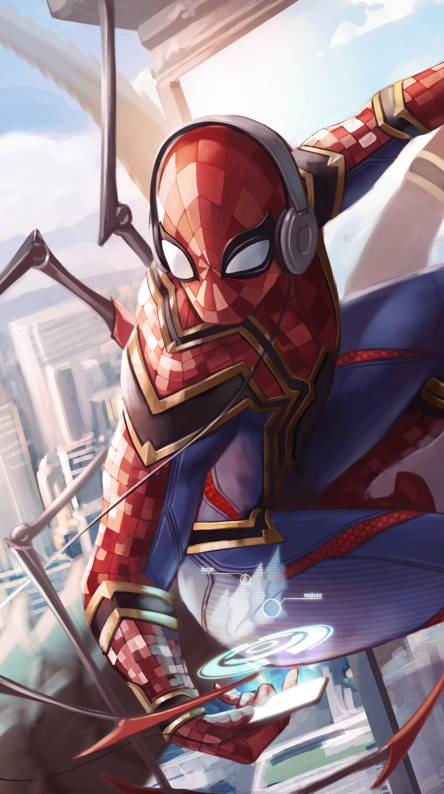 Spiderman Iron Suit