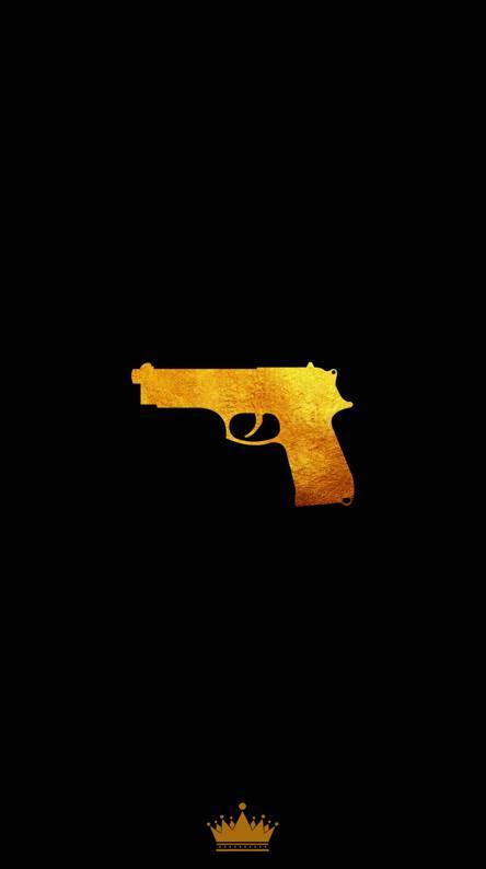 Golden Gun Wallpaper