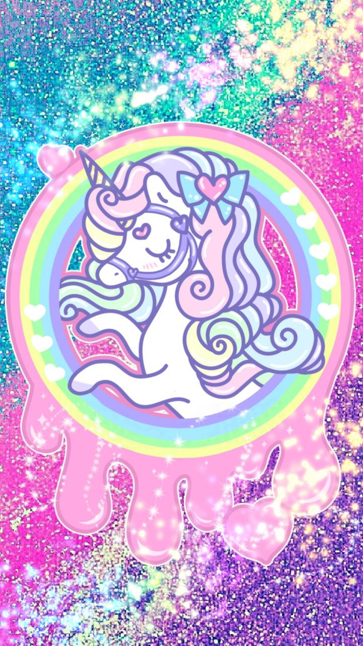 Glitter Unicorn wallpaper by Z7V12 - c6 - Free on ZEDGE™