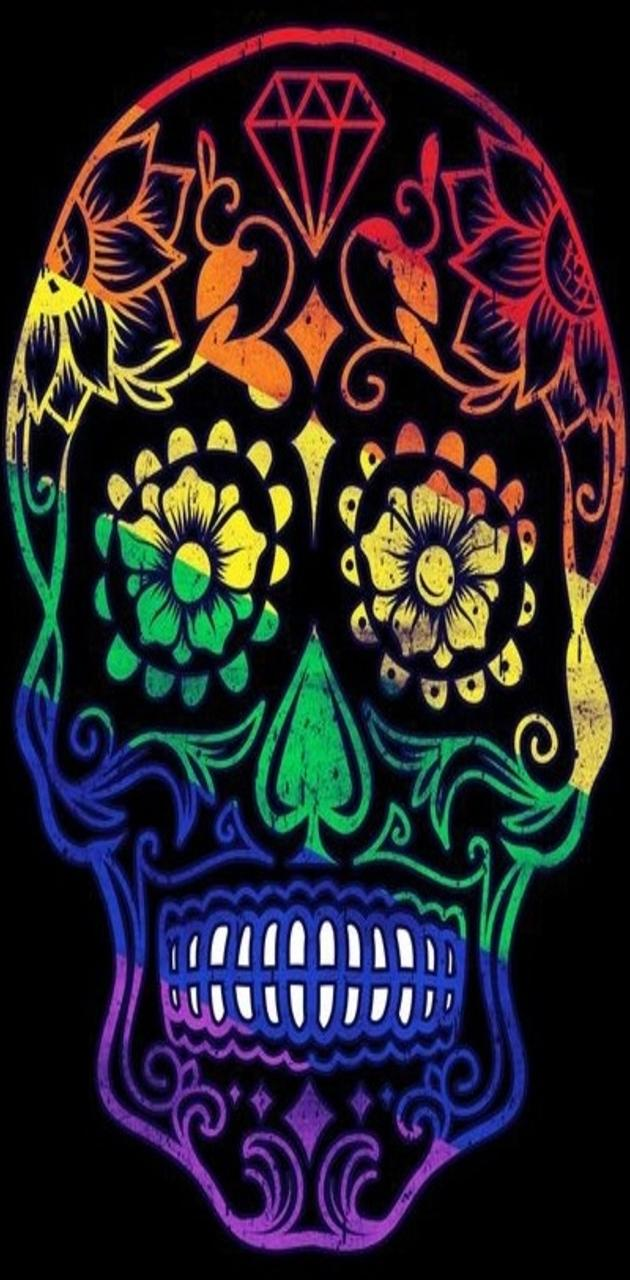 LGBT Sugar Skull