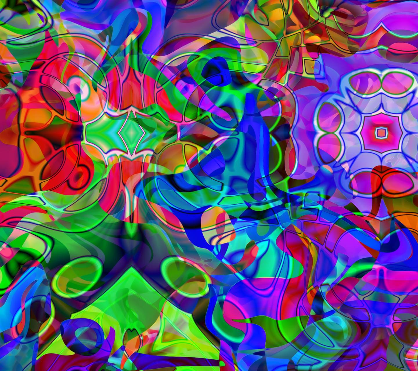 Trippy Abstract