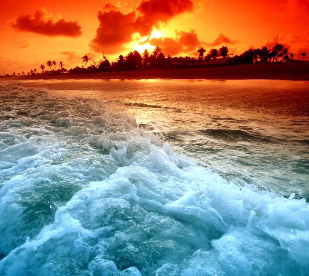 Beach Xperia Arc