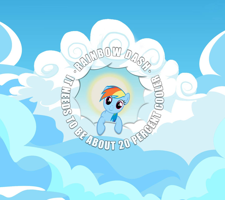 Rainbow Dash Clouds