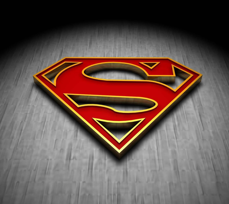 new SUPERMAN logo