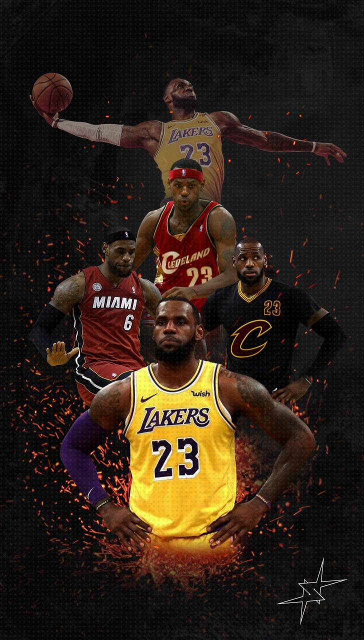 LeBron James wallpaper by imlilNS - 7b