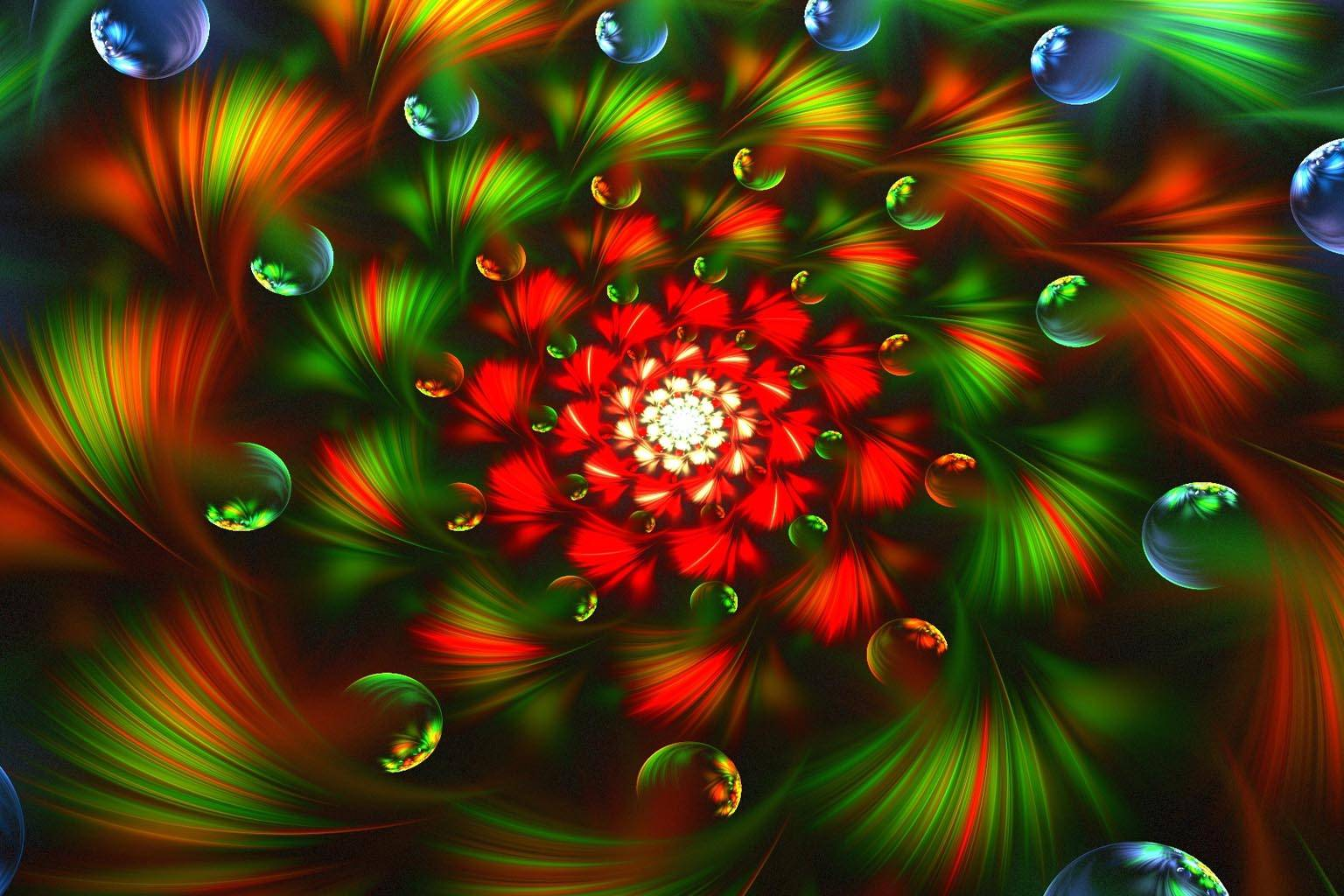 3d Abstract Fractal
