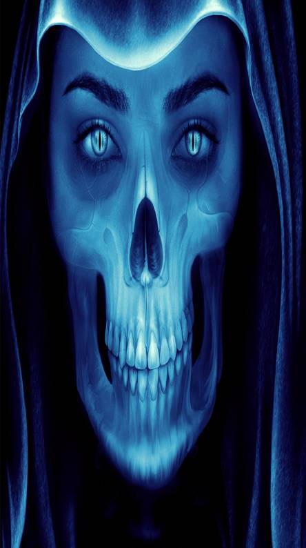 Blue Skull Wallpapers