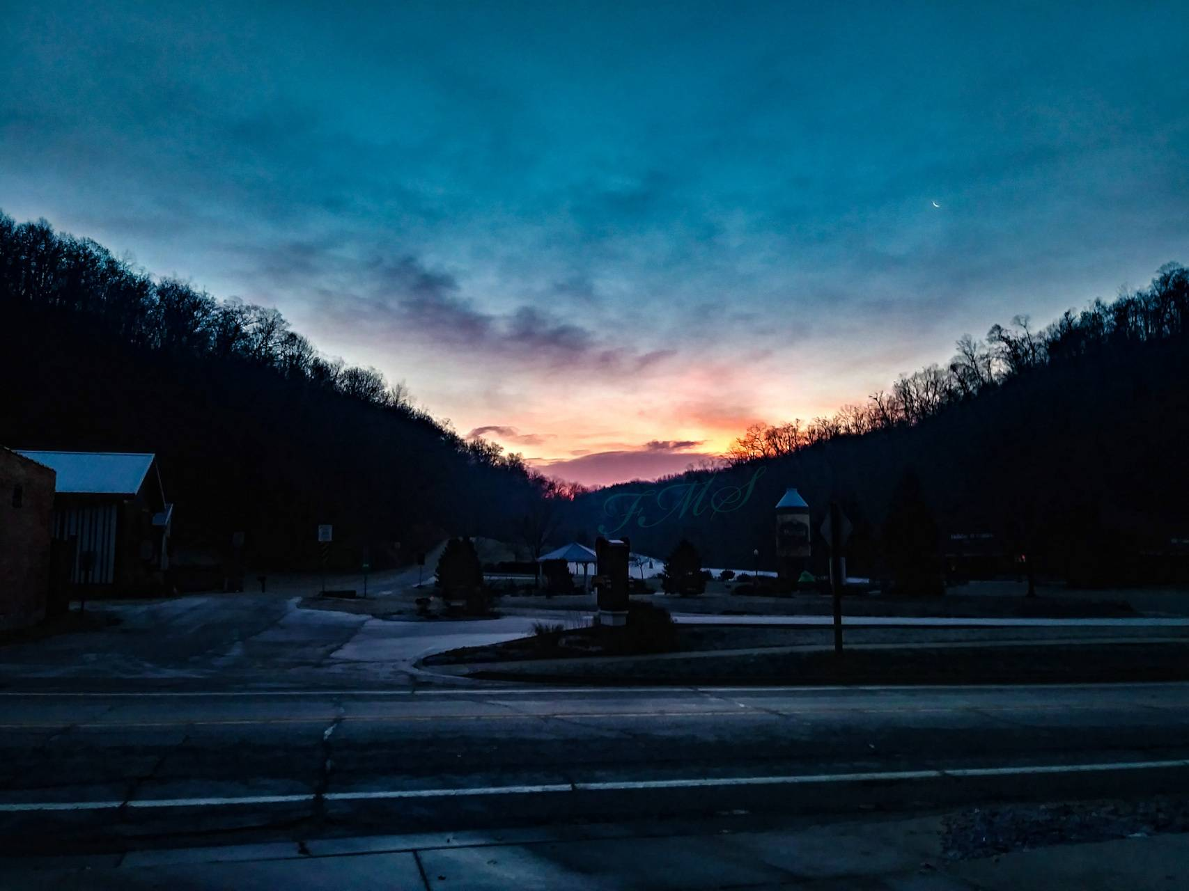 Potosi Wi sunrise