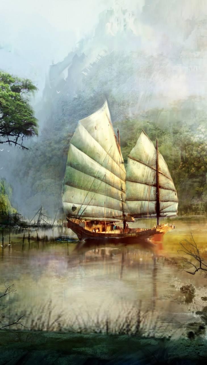 Guild Wars ship