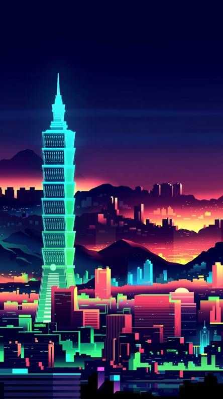 Neon City Ringtones And Wallpapers Free By Zedge