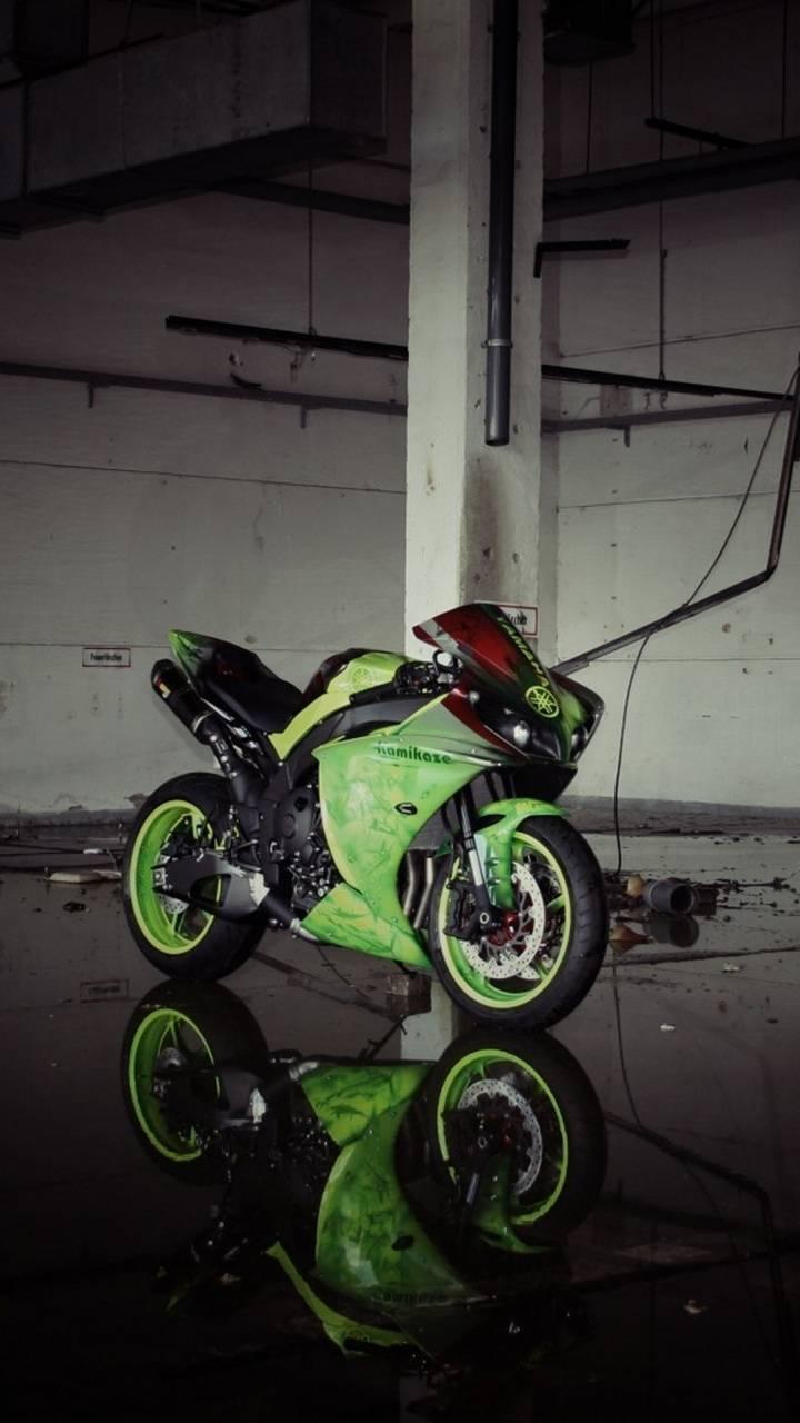 Green Yamaha tuning