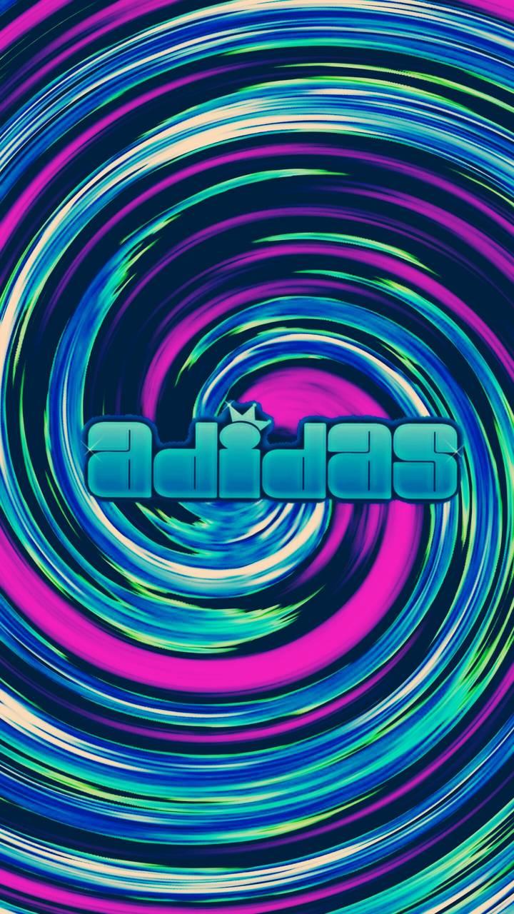 Adidas funky swirl