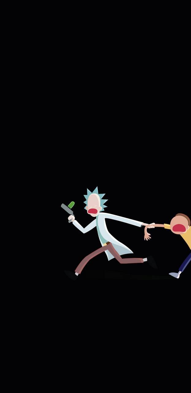 Minimal Rick Morty