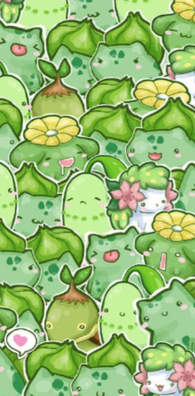 Grass pokemon