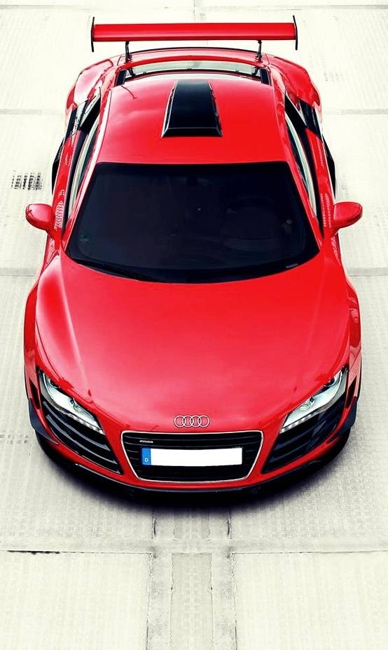 red audi