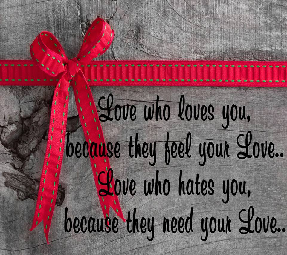 Love Who Loves You