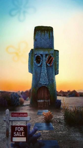Squidward House