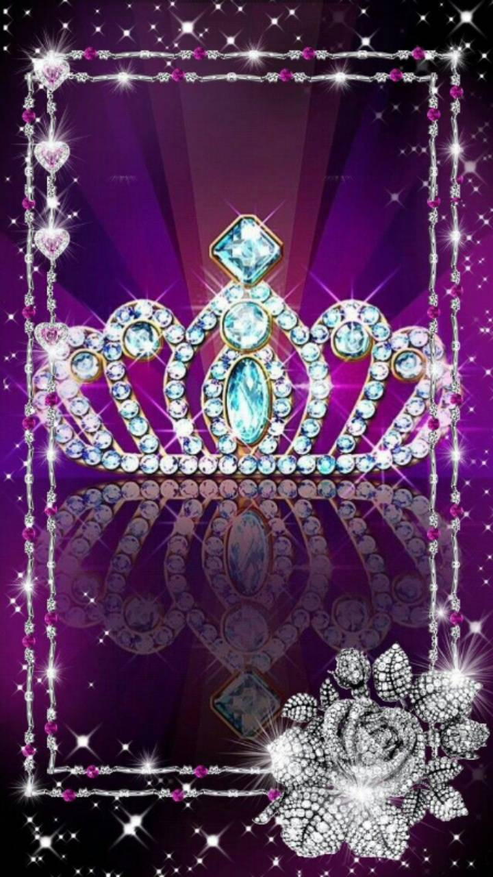 Pink Crown Jewels Wallpaper By Kaeira