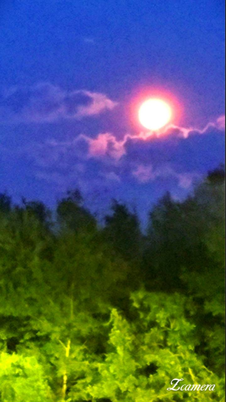 Twilight haze
