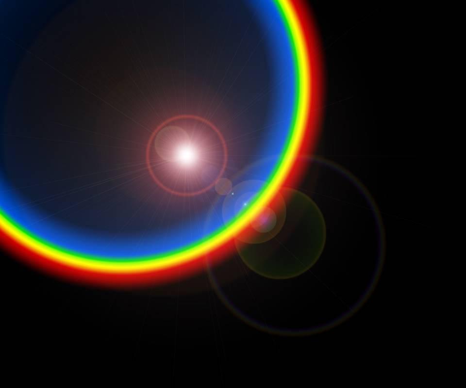 Rainbowgradientflare