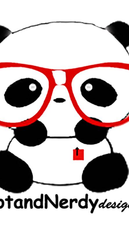 Nerd Panda Bear HND
