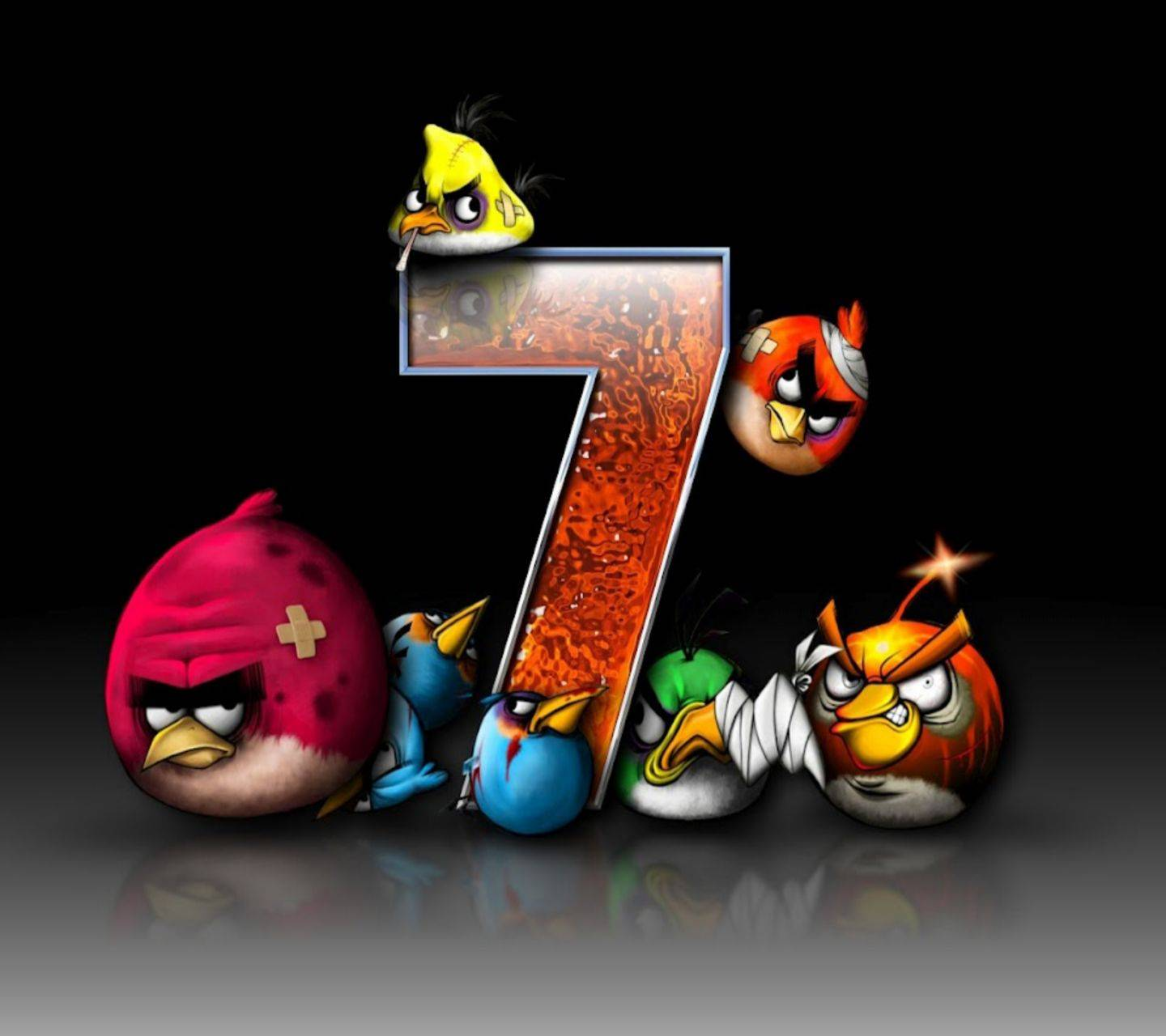 """Angry Birds 7 Wallpaper By Awwthentic D4 Free On ZEDGEâ""""¢"""