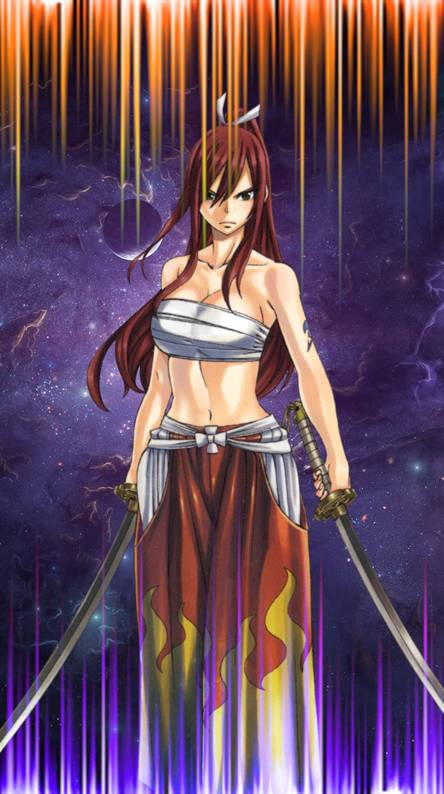 Erza Scarlet Wallpapers Free By Zedge
