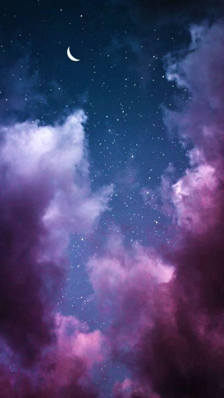 Purple - Night Sky