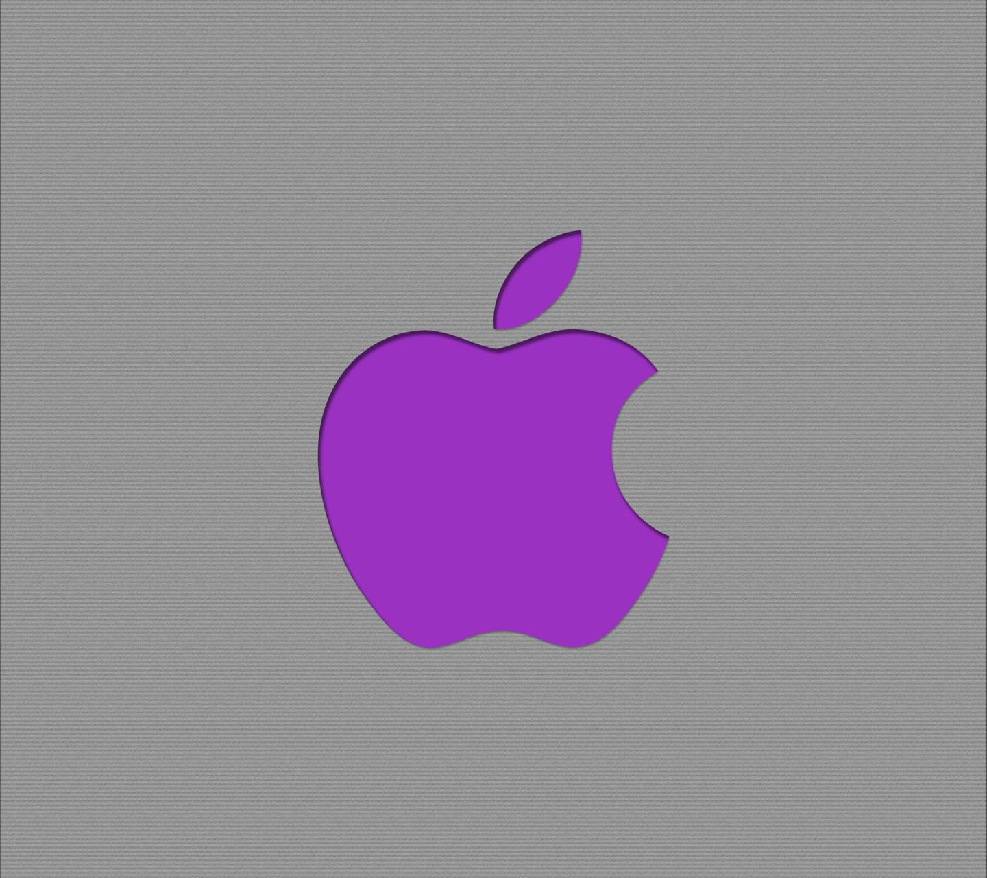 purple apple logo