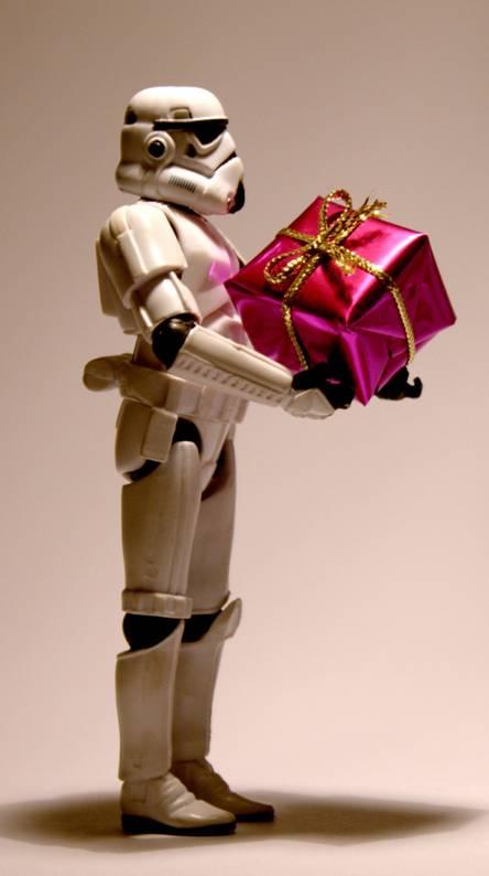 Stormtrooper gift
