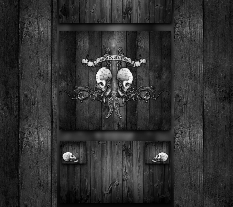 Skulls and Wood