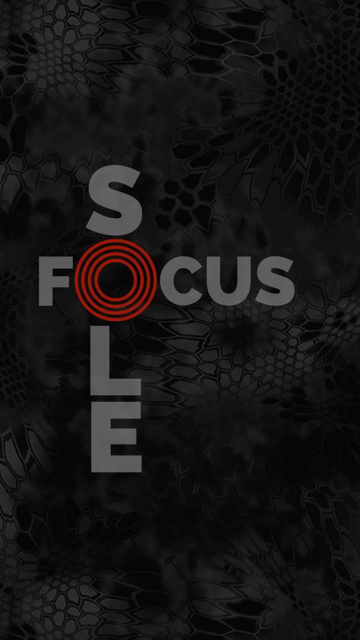 Sole focus
