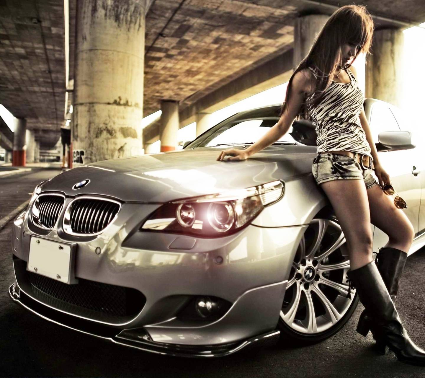Bmw Car Wallpaper: Bmw Girl Wallpaper By Ashu_Astar