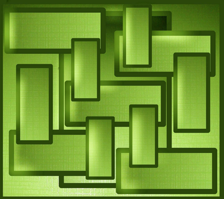 Green Squares 1