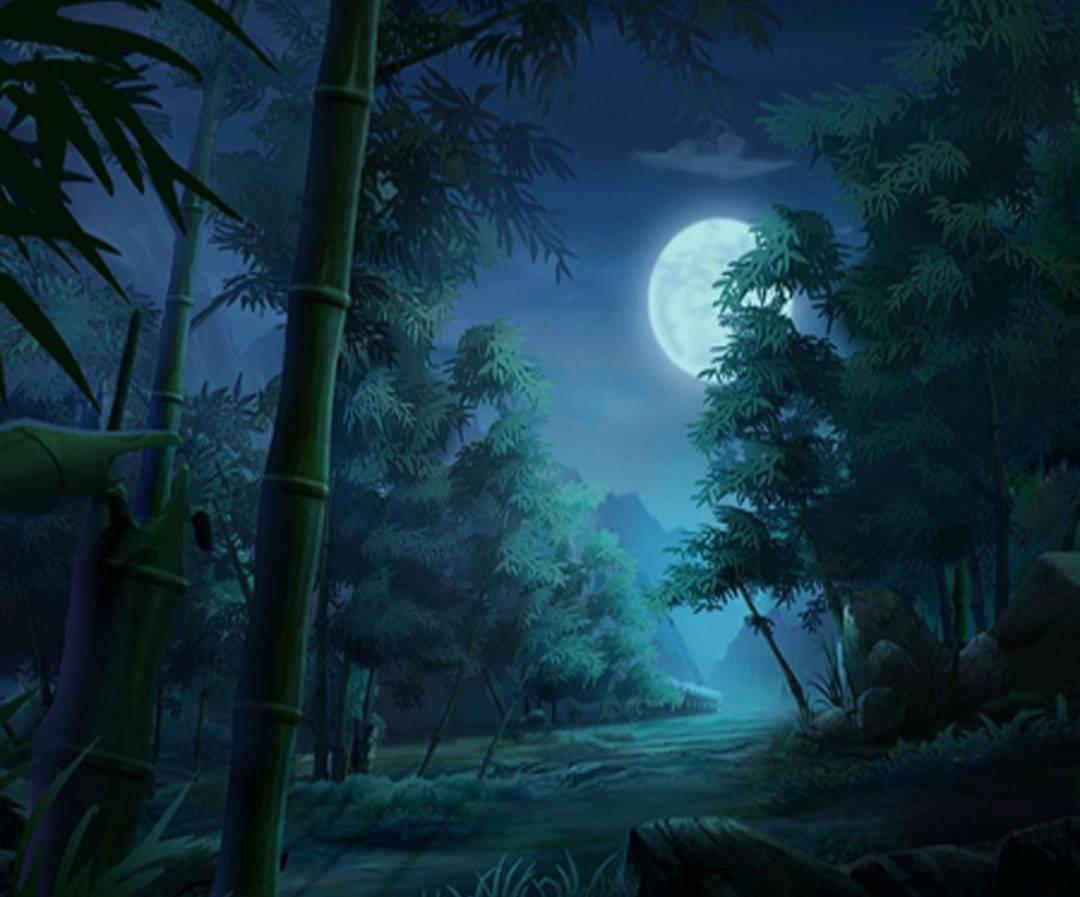 Full Moon Bamboo