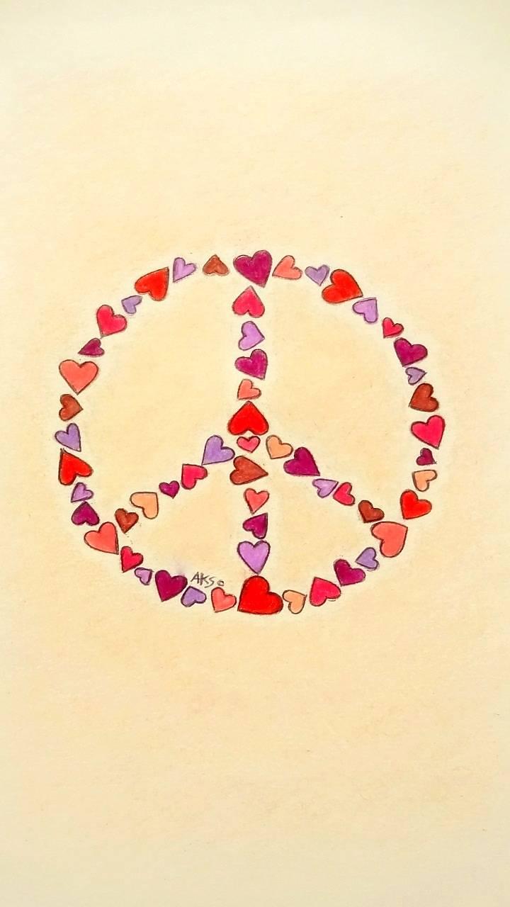 Peace Hearts 1