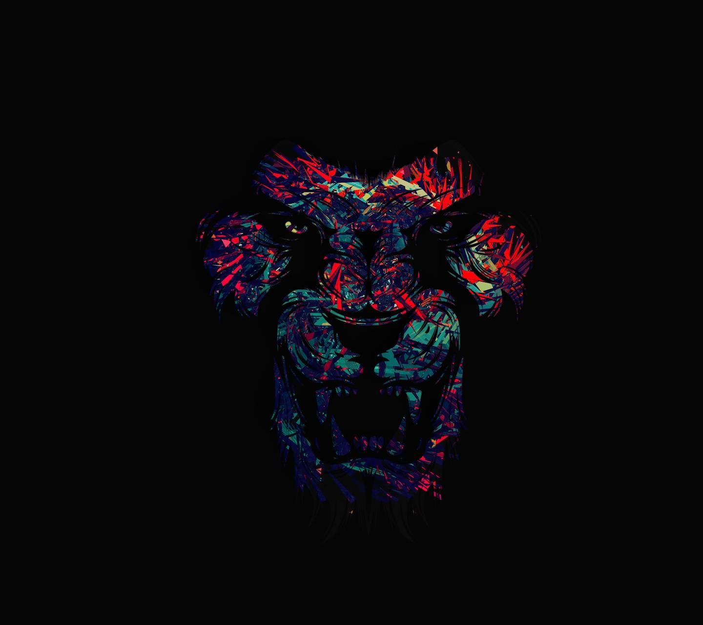 art work LION