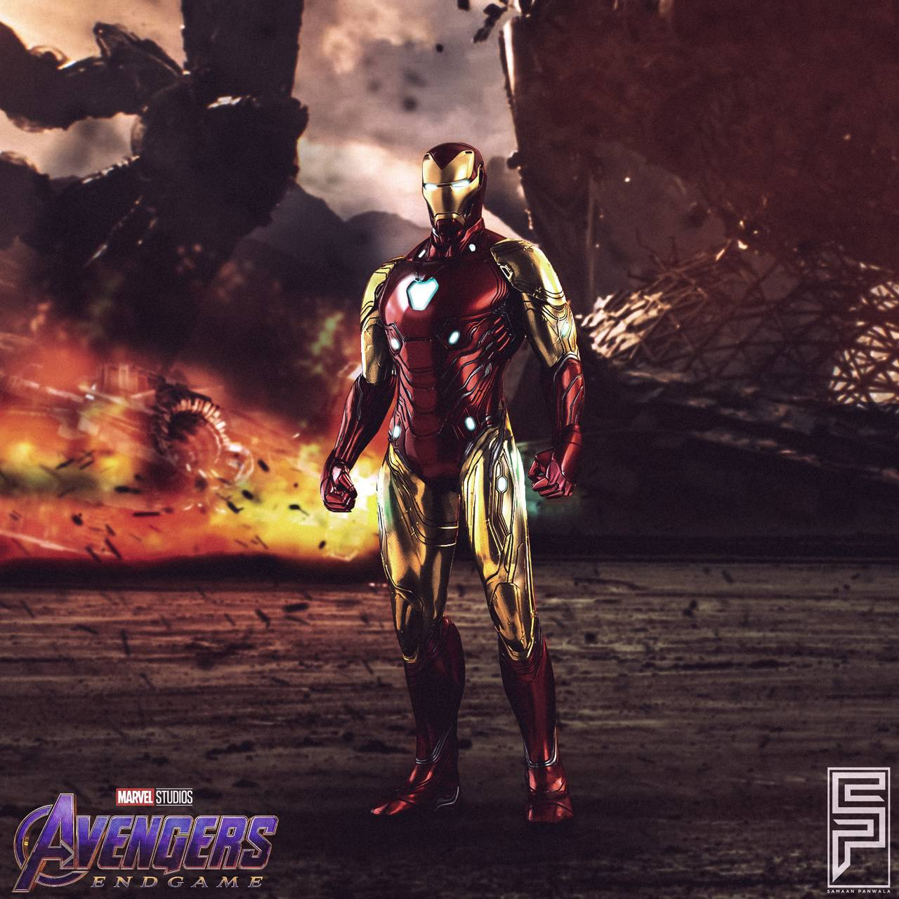 Download Iron Man Wallpaper Hd Mark 85 Cikimmcom