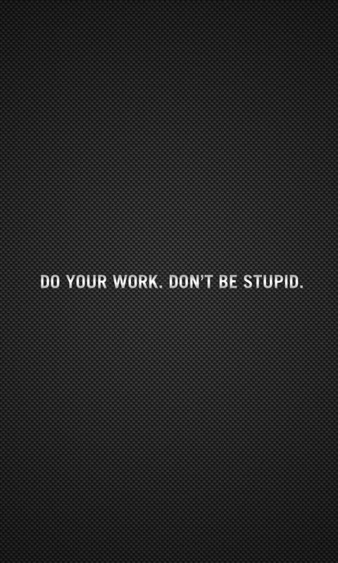 Do Your Work Saying