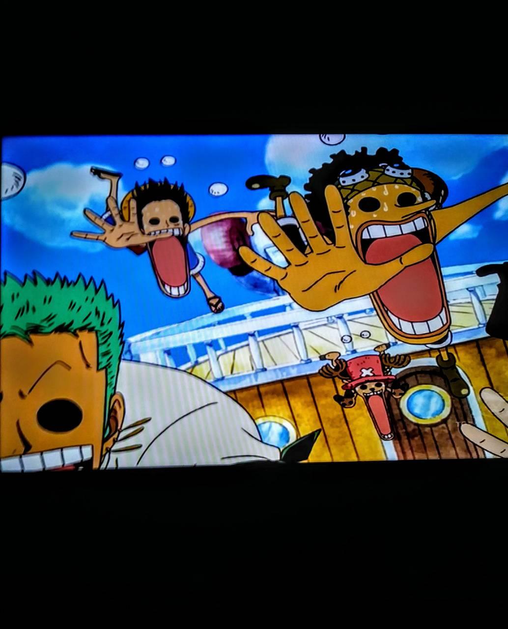 Luffy lost eyes
