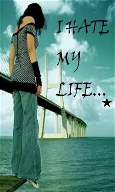 I Hate My Life Wallpaper By Immehta Cd Free On Zedge