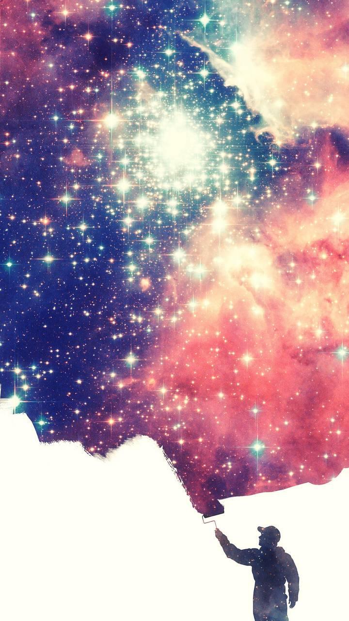 Paint the universe