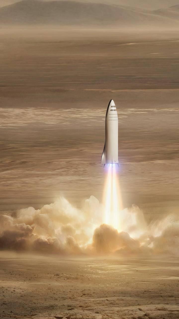 SpaceX BFR Mars