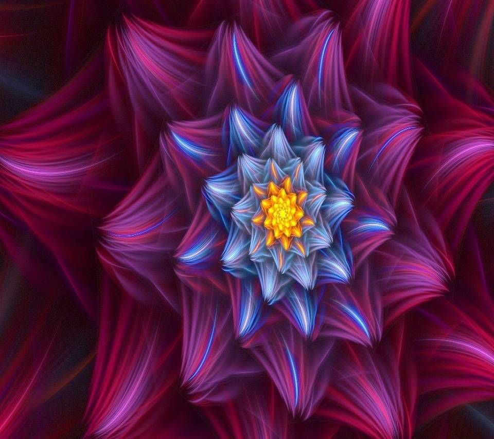 Flower-abstract-v756
